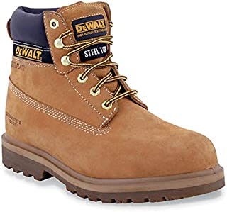 Dewalt Brown Safety Boot For Unisex
