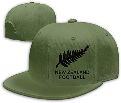 New Zealand Football Unisex Hip Hop Hats Peake Baseball Cap Adjustable