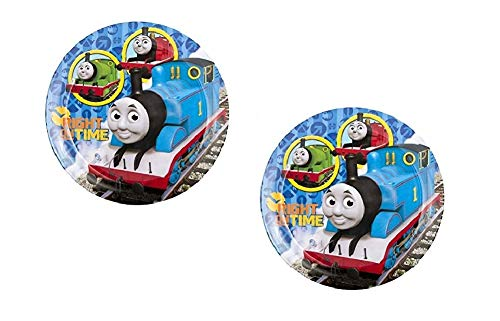 Zak! Designs Thomas The Train Round Melamine Plates - 2 Plates