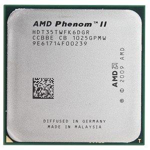 AMD Phenom 1035T 2.6GHz 3MB L2 Caja - Procesador (AMD Phenom II X6, 2,6 GHz, Socket АМ2+/АМ3, PC, 45 NM, 1035T)
