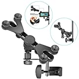 Neewer 6-11 inches Adjustable Music Mic Microphone Stand Tablet Mount with 360 Degree Swivel Holder...