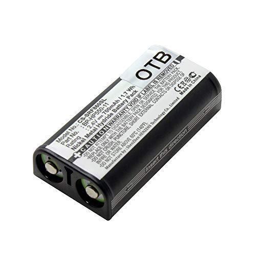 Acumulador, Batería para Sony Auricular MDR-RF925, substituye: Sony BP-HP550-11, Ni-MH, 700mAh,