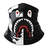 Bape Shark Half Black Camo Face Mask Face Covering Neck Gaiter Scarf Bandanas Balaclava Warmer Windproof Mask