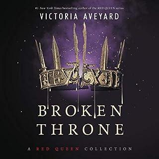 Broken Throne audiobook cover art