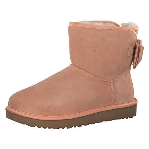 UGG® Satin Bow Mini Damen Stiefel Pink 38 EU
