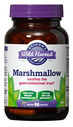 Oregon's Wild Harvest Marshmallow Organic Herbal Supplement, 90 Count