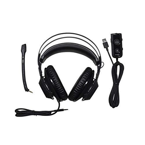 HANYF Casque Gaming, Surround Basse De Son Surround Xbox 360, 7.1 Unité Pilote D'effet Sonore Surround / 50MM / Câble Audio USB avec Carte Son DSP, Adapté pour Les Jeux Adultes
