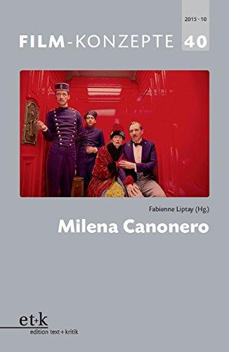 FILM-KONZEPTE 40 - Milena Canonero (German Edition)