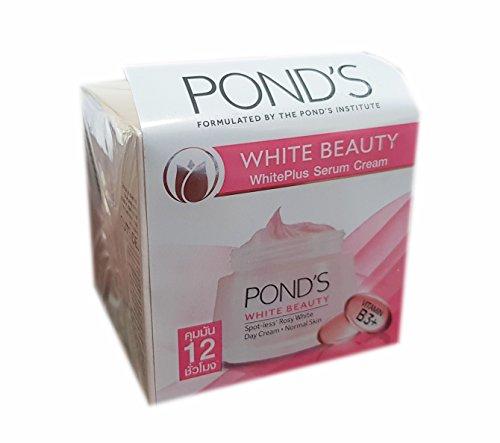 50gms blanco Plus B3 Vitamina suero blanco visible Crema crema de día aclaradora / Nuevo - 2018