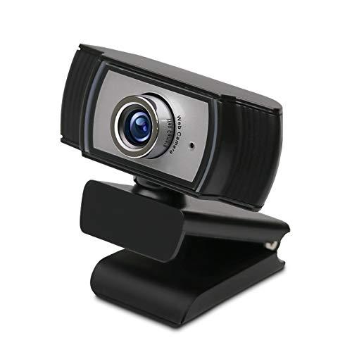 エレコム Webカメラ 200万画素 マニュアルフォーカス Full HD1920×1080ピクセル USB2.0(タイプAオス) 内蔵マイク付 簡易パッケージ WEBCAM-102BK