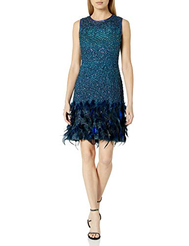 Elie Tahari Women's Anabelle Dress - Blue - 12