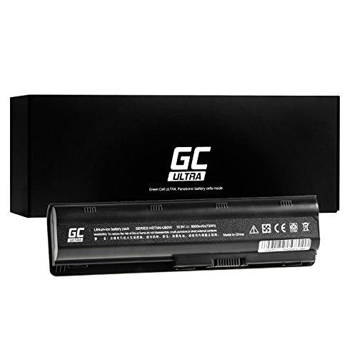 GC® Ultra Serie Laptop Akku für HP Compaq Presario CQ42-310AX CQ42-311AU CQ42-311AX CQ42-312AU (Original Panasonic Zellen 6800mAh 10.8V Schwarz)