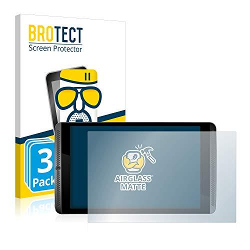 BROTECT Entspiegelungs-Panzerglasfolie kompatibel mit Nvidia Shield K1 (3 Stück) - Anti-Reflex Panzerglas Schutz-Folie Matt