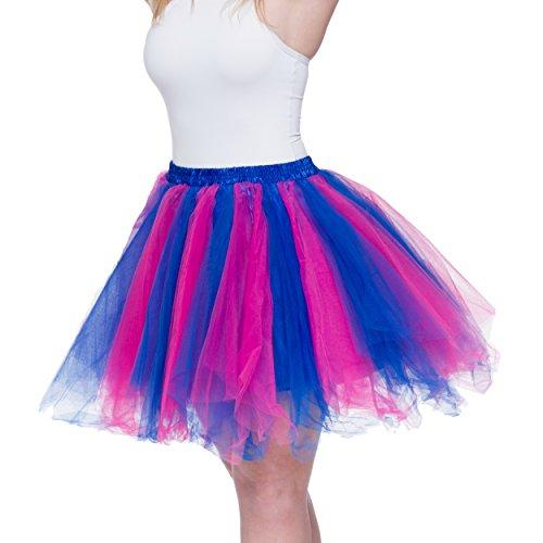 Dancina Dames Petticoat 50s Retro Tutu Tule Rok Normale En Grote Maten