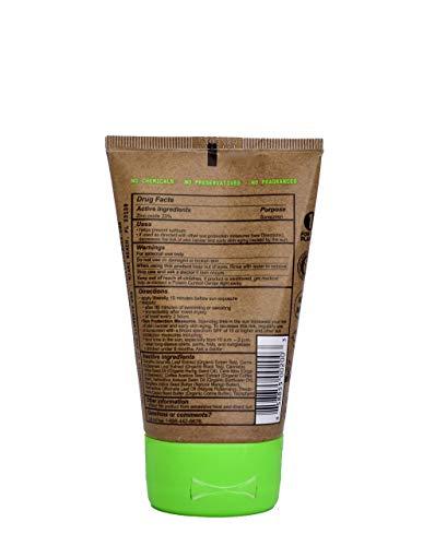 Raw Elements Organic SPF 30 Zinc Sunscreen, 3oz