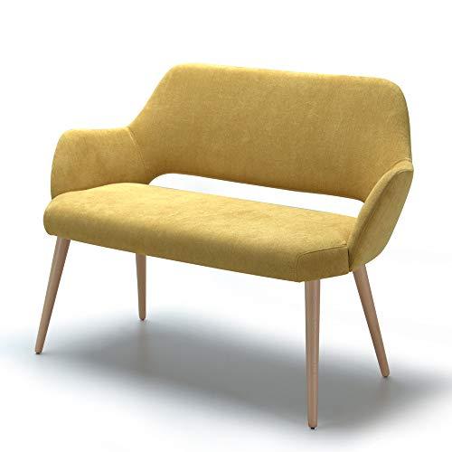 Marca Amazon -Alkove Andre - Sofá de diseño (amarillo)