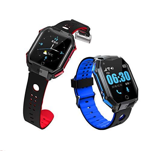 4G Smart GPS reloj IP67 localizador GPS impermeable para ancianos soporte presión arterial hert tarifa monitorización de caída alerta video llamada dispositivo de seguimiento