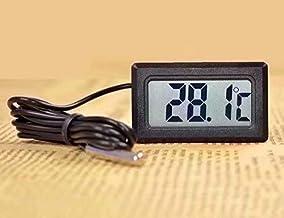 Termómetro de acuario LCD digital con termómetro de agua del refrigerador de sonda