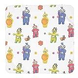 Tele-Tub-Bies - Manta para recién nacido, manta suave y cómoda para niños y niñas, ideal para bebés, regalos perfectos de ducha, saco de dormir para bebés