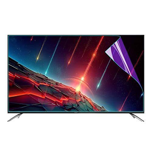 GFSD Protector de Pantalla Anti Luz Azul para TV Material Pet, para LCD, LED, 4K OLED Y QLED Y Pantalla Curva (Color : Matte Version, Size : 42 Inch 917 * 516mm)