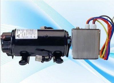 GOWE Compresor de motor sin escobillas de 12 V 850 W para 12 voltios rv camión cama cabina aire acondicionado vehículo cabina cabina camión aire acondicionado