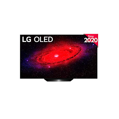 LG OLED55BX-ALEXA - Smart TV 4K UHD OLED 139 cm (55') con Inteligencia Artificial (procesador a7 Gen3, Deep Learning, HDR, Dolby Vision/Atmos, 4xHDMI, 3xUSB 2.0, Bluetooth 5.0, WiFi) Negro Light