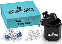 Eargasm Smaller Ears Earplugs for Concerts Musicians Motorcycles Noise Sensitivity Disorders