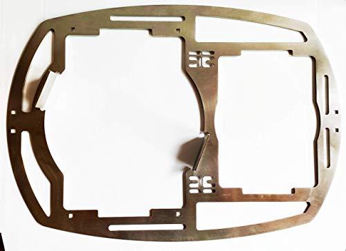 deingrillrost.de EE Hailixblechle 2.0 f. Weber GBS Q300 q3000 4mm Dutch Oven Edelstahl