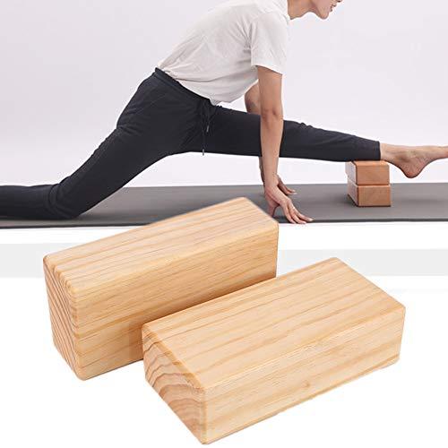 GuangLiu Yoga Bloque Ladrillos Yoga Yoga Conjunto Bloque de Yoga Conjunto Pilates Bloques Bloques de Yoga Pilates la Cabeza de Soporte para Yoga 2pcs,-