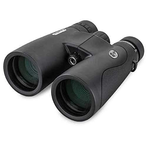 Celestron72336 – Nature DX ED 12x50 Premium Binoculars – Extra-Low Dispersion (ED) Objective Lenses – Multi-Coated Optics –Phase-Coated BaK-4 Prisms – Binoculars for Bird Watching, Black