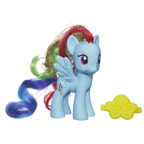 My Little Pony – Rainbow Dash – Figurine 8 cm – Modèle Aléatoire