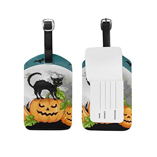 Equipaje De La Maleta Halloween skull grid El Equipaje De Cuero De La Correa Ajustable Etiqueta Las Etiquetas Del Bolso De La Identificación Del Viaje De La Etiqueta De La Etiqueta Para
