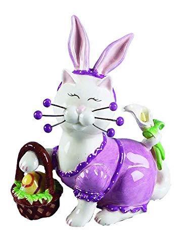Cute WhimsiClay 流行のアイテム Easter bunny 100%品質保証 cat