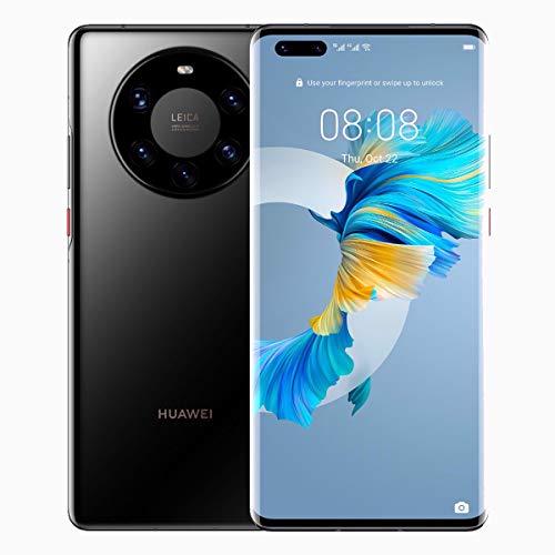 Huawei Mate 40 Pro Plus 5G Dual-SIM 256GB ROM + 12GB RAM (GSM Only | No CDMA) Factory Unlocked Android Smartphone (Black) - International Version