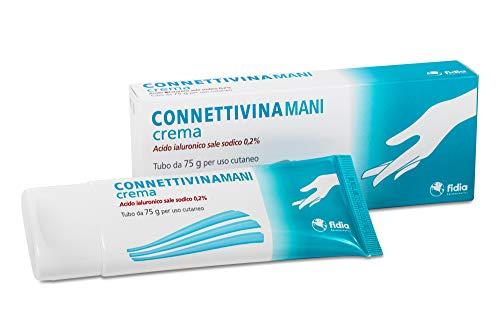 Fidia Farmaceutici Connettivinamani Crema Tubo Da 75 G A Base Di Acido Ialuronico Sale...