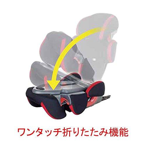 ChildGuard(チャイルドガード)ISOFIX・シートベルト固定両対応312アイフィックスジュニアSグレー日本製3歳~(1年保証)TKISJ204