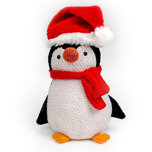 Santa Express Penguin Christmas Doorstop - 29cm