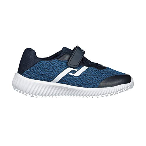Pro Touch Unisex-Kinder Roadrunner V/L Junior Laufschuhe, Blau (Navy/Blue 901), 34 EU