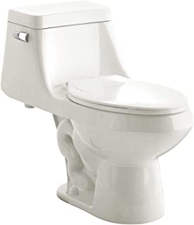 American Standard 2862056.020 Fairfield 1.6 GPF One-Piece Elongated Toilet with Seat and..