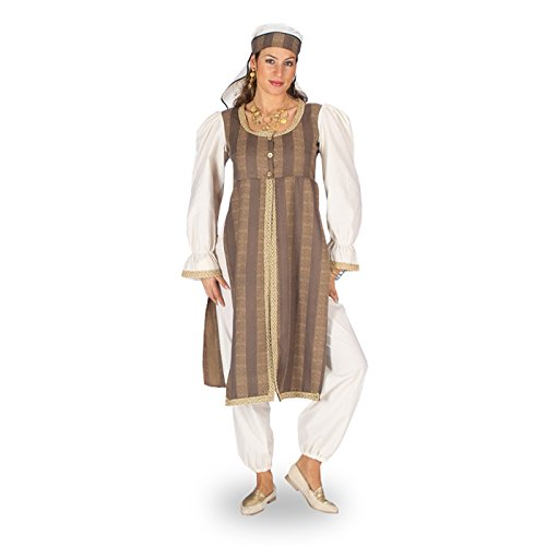 Orient Wüstenbraut - Kostüm Damen orientalische Verkleid. 3tlg Aladin/1001 Nacht - 36/38