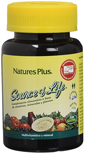 Nature´s Plus Source of Life Multivitamínico - 60 Comprimidos