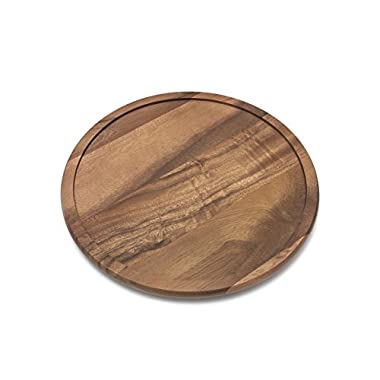 Lipper International 1304 Acacia Wood 14  Kitchen Turntable