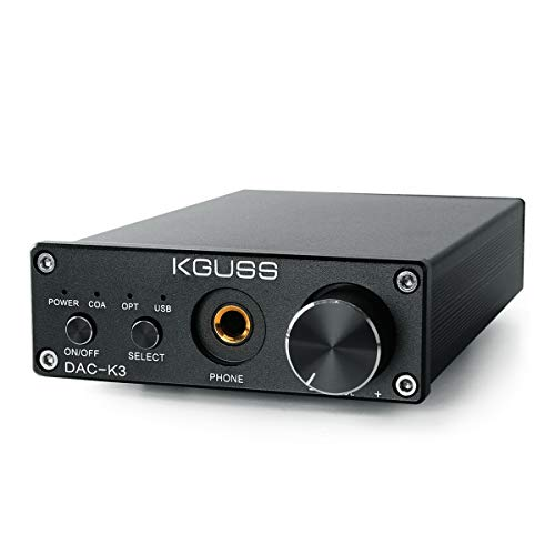 KGUSS DAC 2.0 HiFi Headphone Desktop Amplifier 24BIT 192KHz OPA2134...