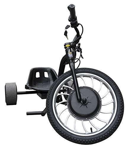 Superride 1000Watts Electric Drift Trike | Brush-Less Motor, High Carbon Steel Frame, Front Hydraulic Brake  Mississippi
