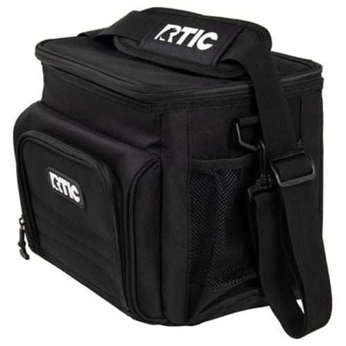 RTIC Day Cooler Bag, 15 Cans, Black, Large Portable Lunch...