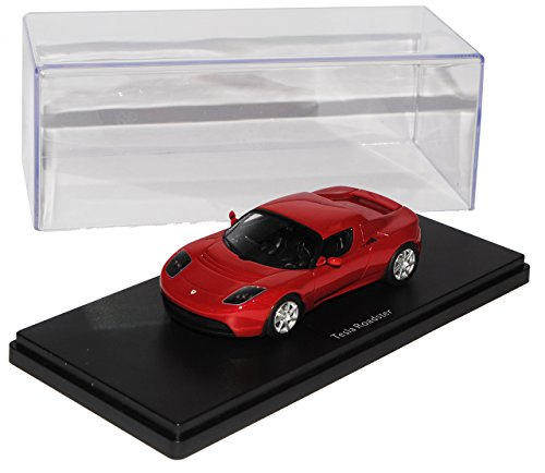 Schuco Tesla Roadster Rot 2008-2012 Pro.R43 1/43 Modell Auto