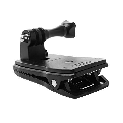 Ansemen Backpack Clip for GoPro Hero 9 Action Camera - 360 Degree Rotation Quick Disassembly Clamp Holder