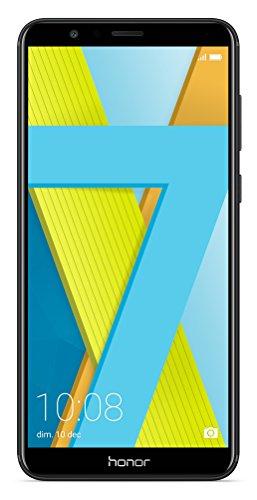 Honor 7X Smartphone débloqué 4G (Ecran : 5,9 pouces - 64 Go - Double Nano-SIM - Android) Noir