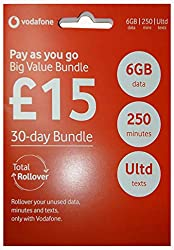 ACTIVATION REQUIRED BEFORE USE -see pack details Bundle lasts 30 days from activation -NOTE: CREDIT WILL BE ZERO AS ALLOCATED TO BUNDLE ALLOWANCE (see description) Personal hotspot/tethering allowed Trio SIM fits any unlocked 3G/4G phone or devices l...