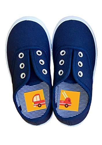 Laufkleber- Schuhaufkleber für Kinder (Fahrzeuge)